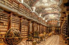 """Old Pics Archive on Twitter: """"The Klementinum Library, Prague (7 photos)  https://t.co/Pya2zGqyCs https://t.co/LTsSFOt44B"""""""