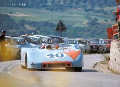 Educate people in the history of motor sports with specific cars. All photos are vintage. Sports Car Racing, Racing Team, Road Racing, Auto Racing, Le Mans, Porsche Rsr, Gilles Villeneuve, Vintage Racing, Amazing Cars