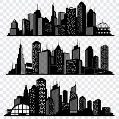 City building silhouettes urban vector image on VectorStock Architecture Concept Diagram, Urban Architecture, Skyline Silhouette, Silhouette Vector, Superhero City, Building Silhouette, City Drawing, Building Drawing, Silhouettes