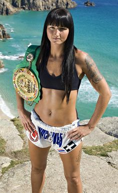 Possibly the best female Muay Thai fighter in the world, Julie Kitchen