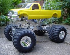 Monster RC Ford way cool.