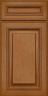 Merillat Masterpiece® Temora Maple Ginger with Sable Glaze