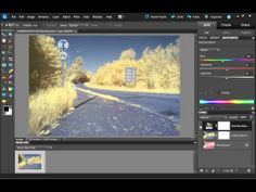 ▶ How to process a false color infrared photo - YouTube