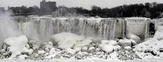 Cataratas Del Niagara, parcialmente congeladas