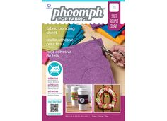 Phoomph for Fabric - This looks really cool, no sew and no ironing!