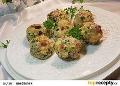 Špekové knedlíky, jak dělám já recept - TopRecepty.cz Sprouts, Cauliflower, Zucchini, Cookies, Vegetables, Food, Diet, Food Ideas, Crack Crackers