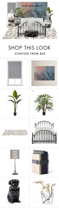 """""""Suitcase Season"""" by neicy-i ❤ liked on Polyvore featuring interior, interiors, interior design, home, home decor, interior decorating, EMAC & LAWTON, Somerset Bay, Hillsdale Furniture and Menu"""