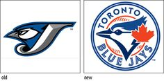 Simplified graphic approach for this bird ilustration - part of Blue Jay's redesign in 2011 based on the 1977 logo