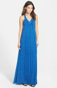 Free shipping and returns on Ella Moss 'Tempe' Printed Maxi Dress at  Nordstrom.