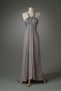 Dress 1936 The Meadow Brook Hall Historic Costume Collection