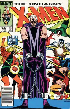 astonishingx:  Magneto's Monday: Trial of MagnetobyJohn Romita...