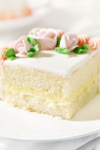 Fluffy White Sheet Cake (recipe from Amish country)