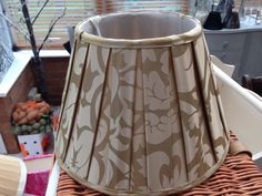Golden pattern lampshade