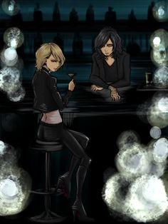 Shinya and Kaoru, Dir en grey,  fan art