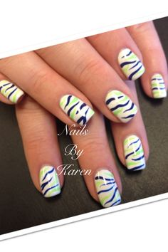 Seattle Seahawks Nails By Karen 360-687-2404