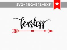 fearless svg file fearless svg arrow svg by PersonalEpiphany