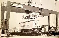 Baltimore And Ohio Railroad, Freight Transport, Heavy Equipment, Big Trucks, Trailers, Transportation, Container, Flat, Cars
