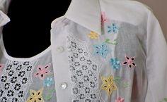 blusas bordadas a mano de cartago valle - Buscar con Google