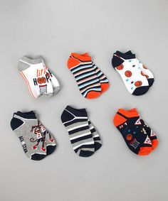 Basketball Monkey Socks Set from Vitamins Baby on #zulily