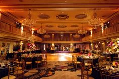 The reception, wedding at the Drake Hotel