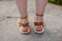 SALE 20% OFF: Gladiator Sandals Lace up sandals Greek