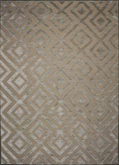 Bliss Soumak - Mid Century Platinum (Soumak/Bamboo Silk)