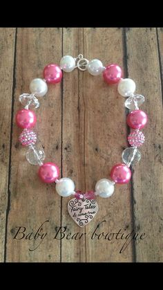 Princess chunky necklace