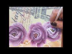 Pintando Rosas 2 - YouTube