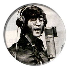 ONLY ONE Beatles John Lennon 2-1/4 Inch Button