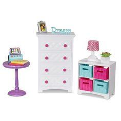 Buy My Life As Bedroom Set from Walmart Canada. American Girl Doll Room, American Girl Furniture, Girls Furniture, Barbie Furniture, American Girl House, Dollhouse Furniture, Accessoires Barbie, Diy Accessoires, Baby Dolls