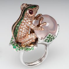 Frog Cocktail Ring