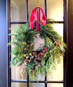 Organic loose wreath