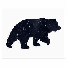 Bear Spirit Animal art print