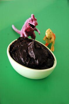 Barbara Adams Beyond Wonderful » The Amazing Erupting Volcano Cake Quick Black Chocolate Buttercream Recipe