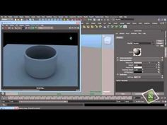 Maya and VRay Integration - How To Render Smooth Geometry Object - YouTube