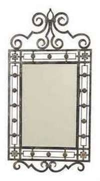 Iron Mirrors Wall Floor Bath And Oval Or Full Length In 2018 Pinterest Wrought Mirror