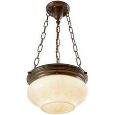 Classical Revival Bowl Chandelier, circa 1920