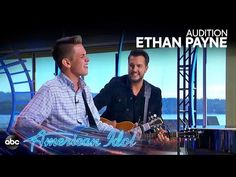 """Ethan Payne's audition turns into adorable duet with Luke Bryan when he sings """"Do I"""" by the country star. Heart Touching Story, Touching Stories, Best Callus Remover, Music Competition, Make A Wish Foundation, Lionel Richie, Reaching For The Stars, Country Artists, Luke Bryan"""