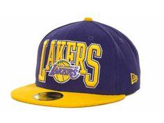 Los Angeles Lakers NBA 2TB 59FIFTY Cap Hats · New Era ... b8bdf2ba3a3