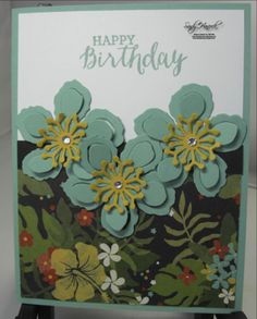 Botanical Blooms Happy Birthday