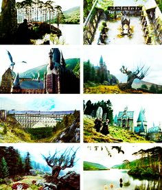 Harry Potter & the Prisoner of Azkaban + Scenery