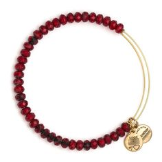 Scarlet Luminary Beaded Bracelet   Alex and Ani   With dual meanings, a luminary is a heavenly body or a person of prominence and brilliant achievement. The stars of the night sky are luminaries that shine and guide the paths of those on earth, just as their human counterparts guide and enlighten those around them.
