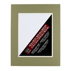 """Studio Décor™ Pre-Cut Double Mat, 16"""" x 20"""" with 11"""" x 14"""" Opening $2.99"""