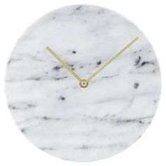 """10"""" Faux-Marble Wall Clock - Threshold™ : Target want for Christmas!!!!"""