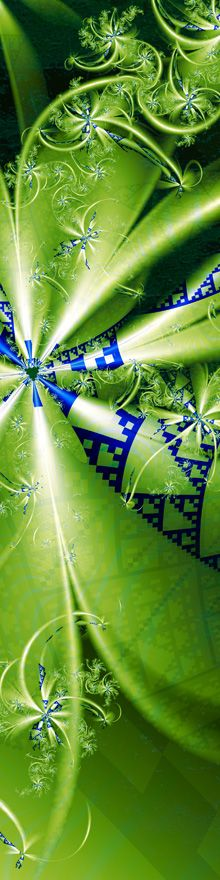 """Pandora's Bouquet"" — A luscious original fractal fine art image by #danturnerartist Dan Turner. Cropped for Pinterest. http://DanTurnerFineArt.com — See the full uncropped image at http://dan-turner.artistwebsites.com/featured/pandoras-bouquet-dan-turner.html"