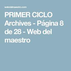 PRIMER CICLO Archives - Página 8 de 28 - Web del maestro