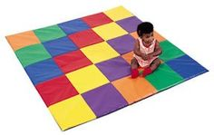 Patchwork Activity Mat for Kids in Primary $145.95