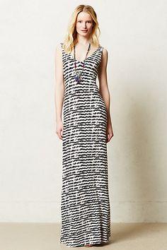 Oscillate Maxi Dress #anthropologie