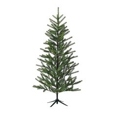 IKEA FEJKA Artificial plant Christmas tree 180 cm A perfect Christmas tree if you don't want to clean up fallen needles. Ikea Christmas, Christmas Tree Art, Christmas Time Is Here, Woodland Christmas, Halloween Christmas, Simple Christmas, Christmas Decorations, Holiday Decorating, Christmas Stuff