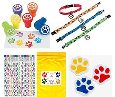 Paw Print Birthday Party Favor Bundle Pack Animal Lover Stampers, 12 Pencils, 12 Erasers, 12 Puppy Dog Collar Bracelets & Bonus Bag) *** You can find more details by visiting the image link. Paw Patrol Party, Paw Patrol Birthday, Wooden Pencils, Pamper Party, Puppy Party, Kids Party Supplies, Birthday Party Favors, 2nd Birthday, Party Packs